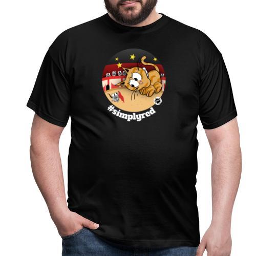 Astrokatze Stier - Männer T-Shirt