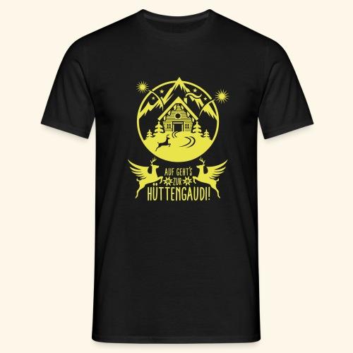 Hüttengaudi - Männer T-Shirt