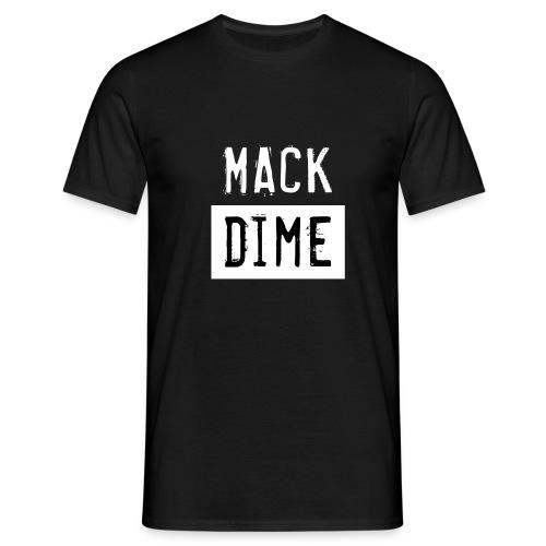 Mack Dime zw wit - Mannen T-shirt