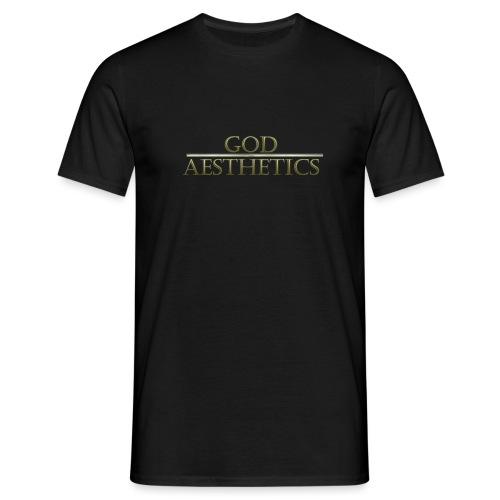 God Aesthetics Aesthetics Warrior Fitness Shredded - Men's T-Shirt