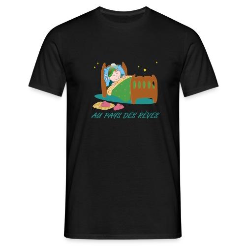 Personnage endormi - T-shirt Homme