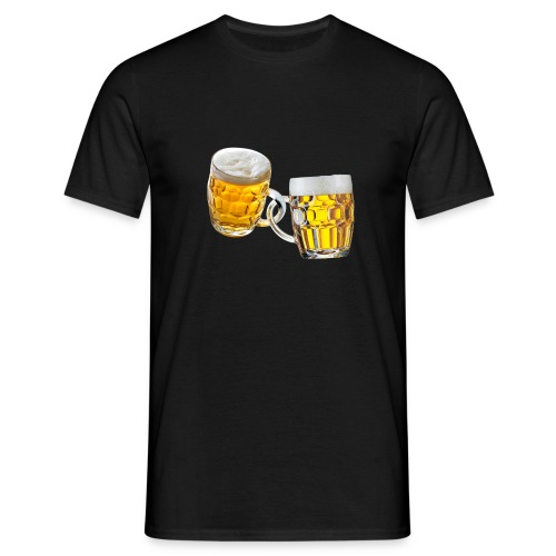 Boccali di birra - Maglietta da uomo