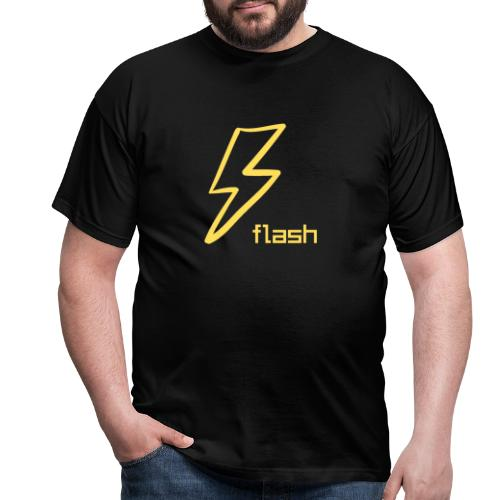 Flash - Herre-T-shirt
