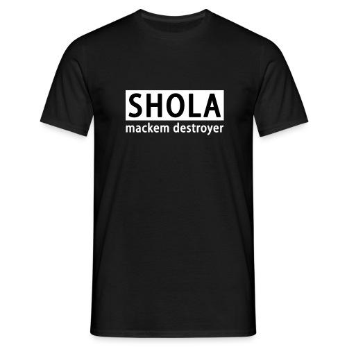 sholawhite - Men's T-Shirt