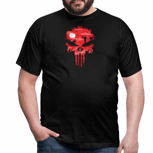 Night Skull - Miesten t-paita