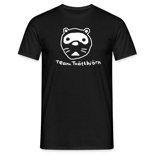 team tvättbjörn - T-shirt herr