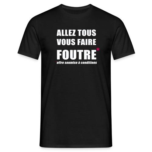 allez png - T-shirt Homme