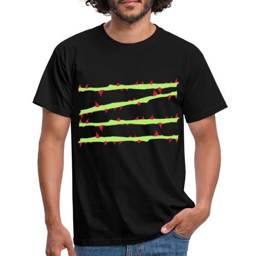 dornen4x - Männer T-Shirt
