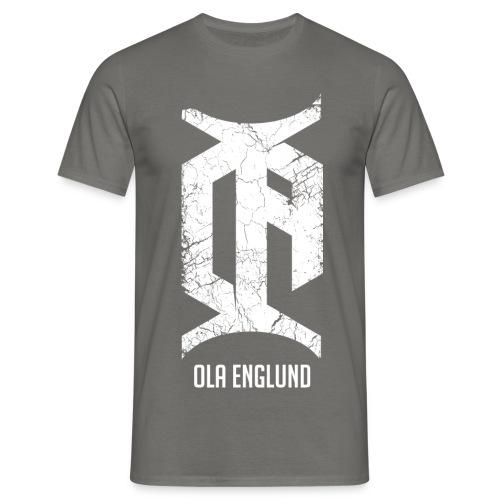 Distressed-white - Men's T-Shirt
