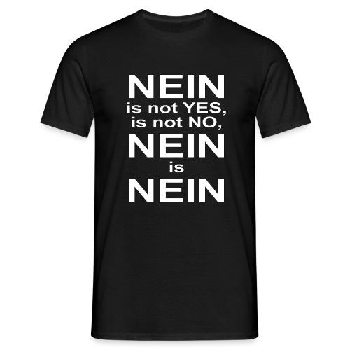 NEIN! - Men's T-Shirt
