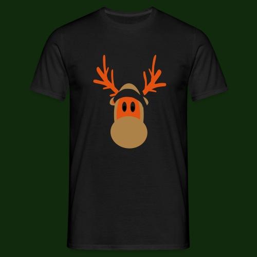 Rentier - Männer T-Shirt