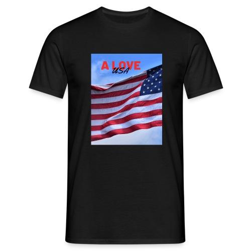 a love usa - T-shirt Homme