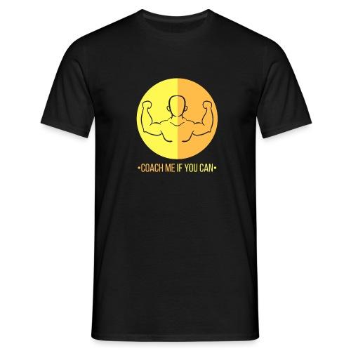 Muscle jaune orange - T-shirt Homme