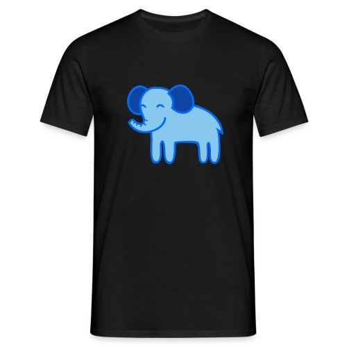Kinder Comic - Elefant - Männer T-Shirt