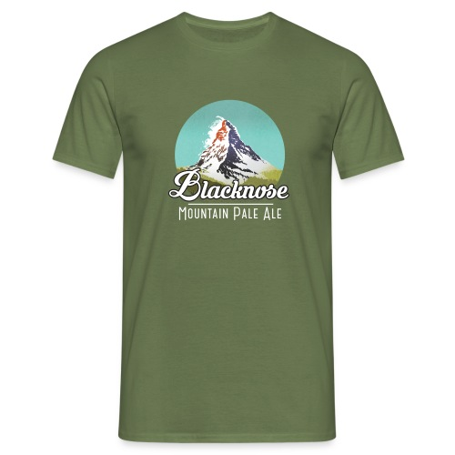 Blacknose Matterhorn - Männer T-Shirt