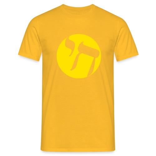 hai transp jaune - T-shirt Homme
