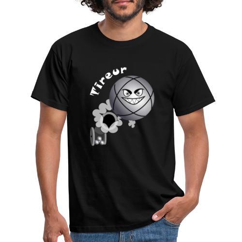 t shirt tireur pétanque boule existe en pointeur B - T-shirt Homme
