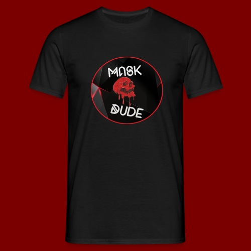 Mask Dude - Men's T-Shirt