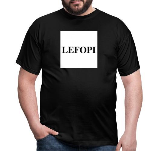 LEFOPI - Mannen T-shirt