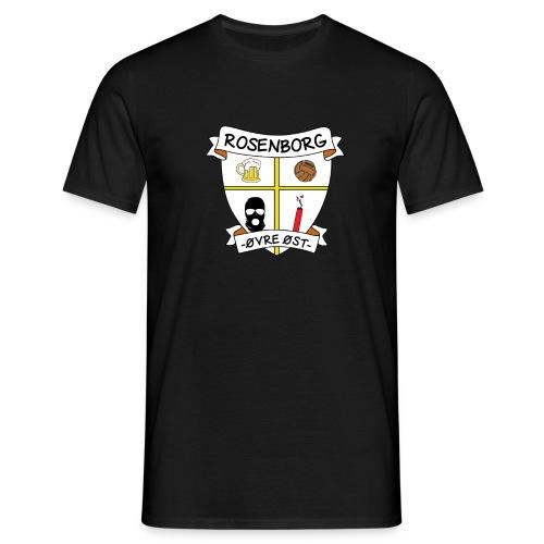 Rosenborg ØØ transp png - T-skjorte for menn