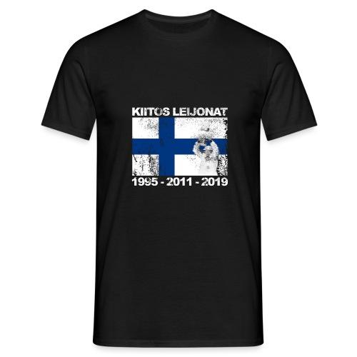 kiitos-leijonat-95-11-19 - Miesten t-paita