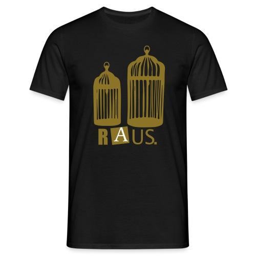 Goldener Käfig - Männer T-Shirt