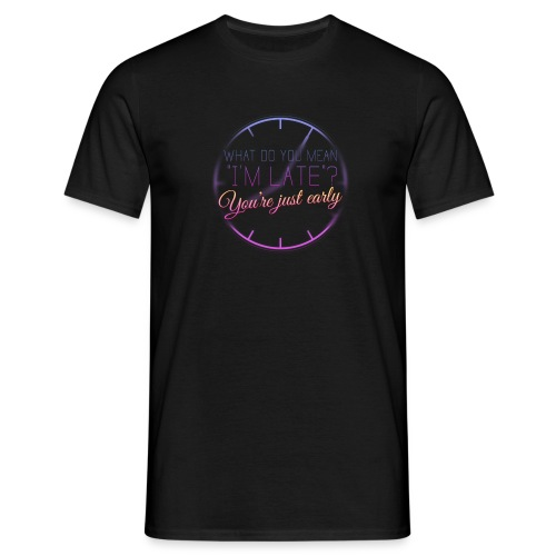 Exitom Late - Men's T-Shirt