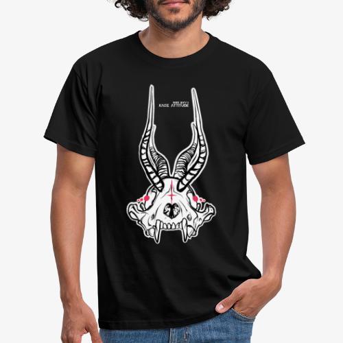 Fux Skull-ver2 - Männer T-Shirt