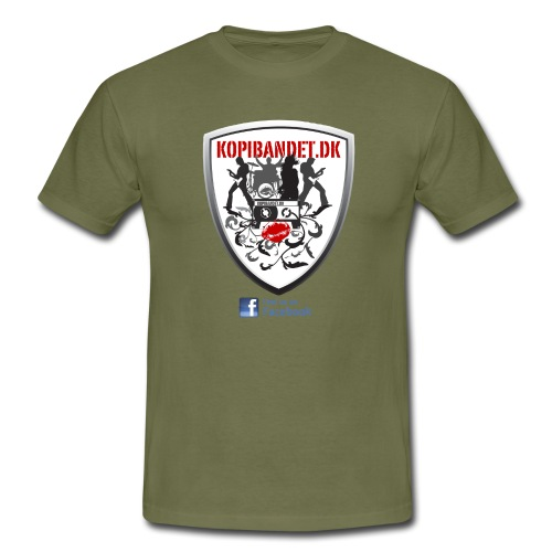 KopiBandet.DK find us on facebook - Herre-T-shirt