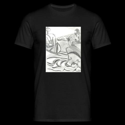 abstrack - Camiseta hombre