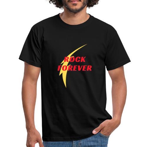 Rock forever - Mannen T-shirt