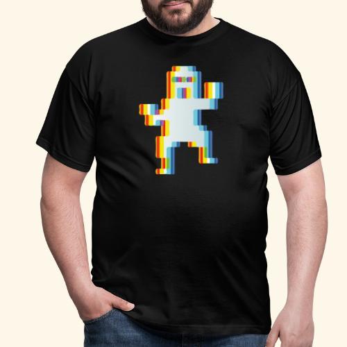 80's party glitch - Men's T-Shirt