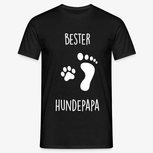 Bester Hundepapa - Männer T-Shirt
