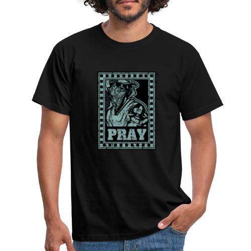 Pray - Maglietta da uomo