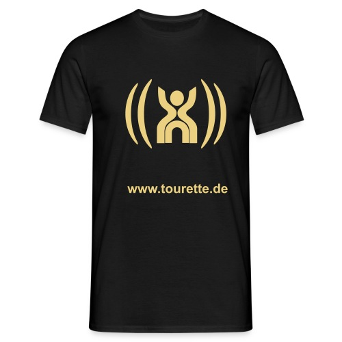 ts logo mit internet - Männer T-Shirt