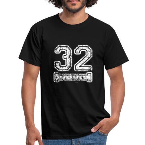 32 Baseball Logo - Männer T-Shirt