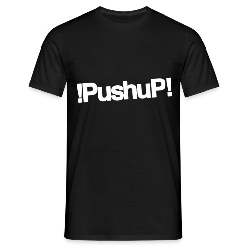 LOGO OFFICIEL blanc PushuP 2016 png - T-shirt Homme