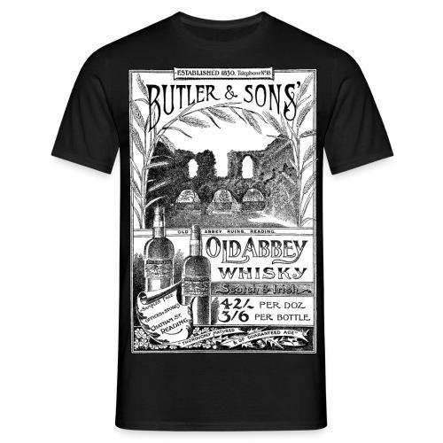 Butler's Old Abbey Whisky - Men's T-Shirt