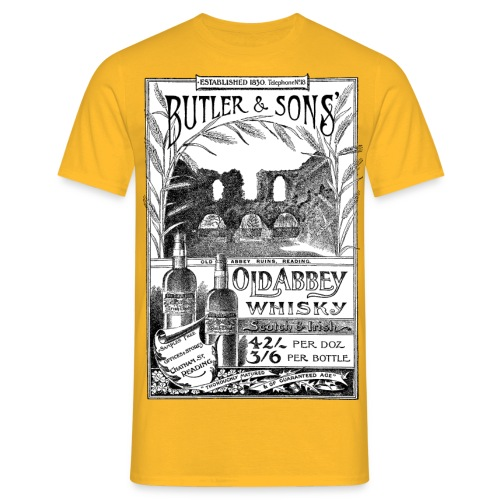 Butler's Old Abbey Whisky - Men's T-Shirt