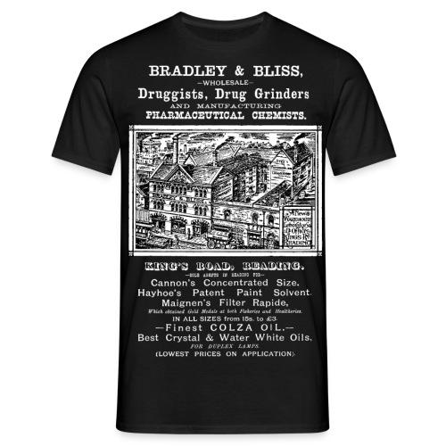 Bradley & Bliss Pharmaceutical Chemists Reading - Men's T-Shirt