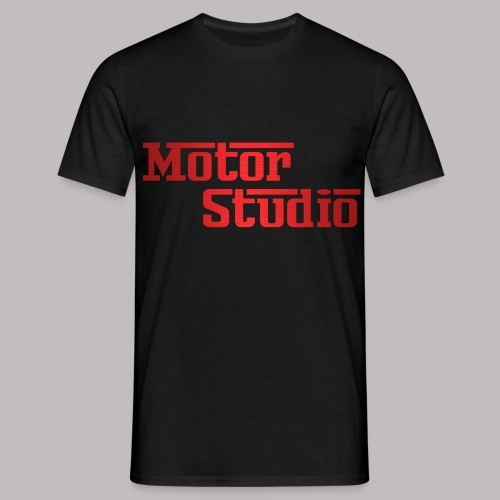 MOTORSTUDIO T SHIRT Red A - Men's T-Shirt