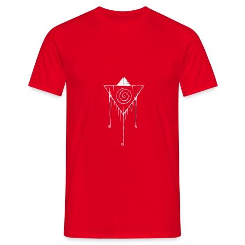 Hypno White - Mannen T-shirt