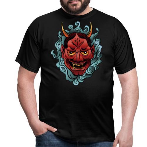 hannya mask - Camiseta hombre