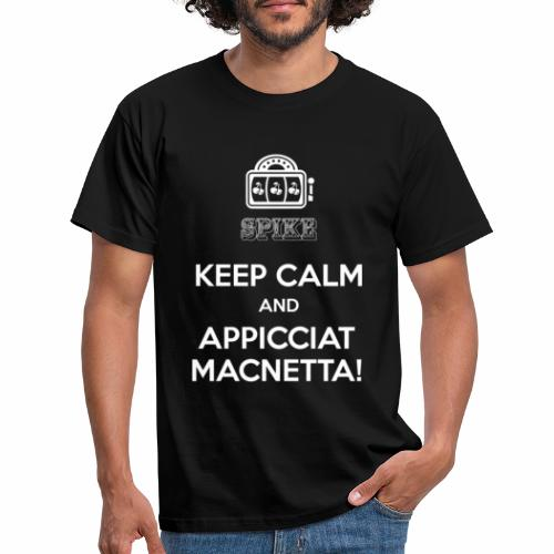 KEEP CALM bianco - Maglietta da uomo