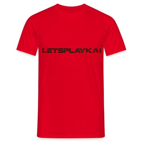 LetsPlayKaiLOGO - Männer T-Shirt