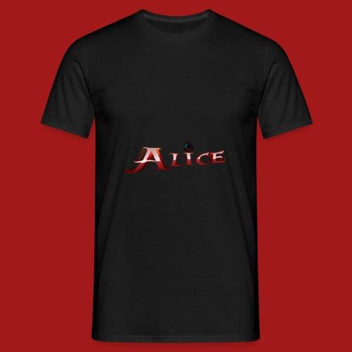 AliceShirtDruck1920x1080 png - Männer T-Shirt