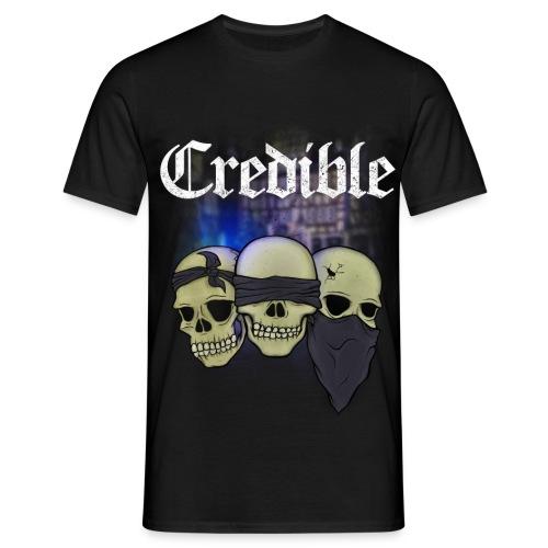 CREDIBLE - Taubstumme - Männer T-Shirt