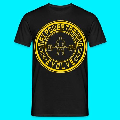 logo yellow png - Maglietta da uomo
