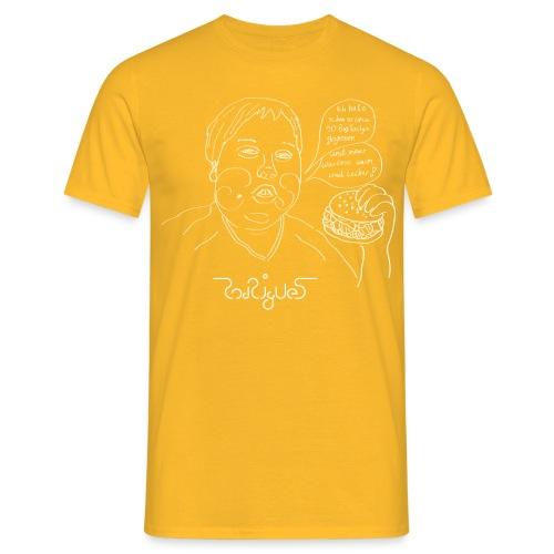 Warm und lecker - Männer T-Shirt