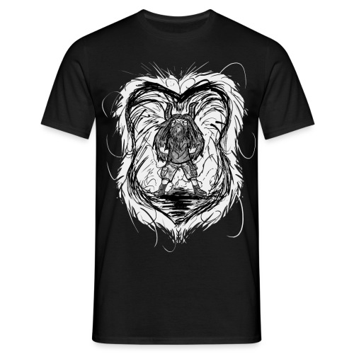 Horned Metalhead - Men's T-Shirt